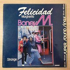 """#531 BONEY M """"FELICIDAD"""" - VG++/VG++ - N° 8.107 - MAXI 45 TOURS"""