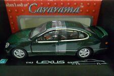 CARARAMA 1:43 AUTO DIE CAST LEXUS GS300 VERDE METALLIZZATO  ART 250