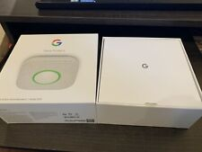 Google Nest Protect Gen 2 Smoke Carbon Monoxide Box Only with Setup Guide