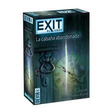 Devir BGEXIT1. Exit 1. La Cabaña abandonada. De 1 a 6 jugadores