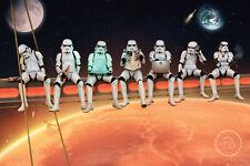 Star Wars Poster Stormtrooper On Girders 91 5 X 61 Cm