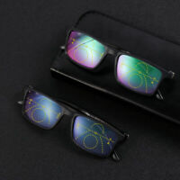Glasses Progressive Multifocal Lens Anti-blue Light Presbyopia Eyeglasses