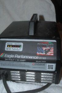Eagle  Delta Volt  Board Charger 24 v 20 amp  used