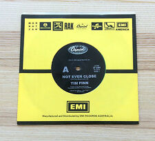 "Tim Finn – Not Even Close - Australia 1990 - 7"" 45 Vinyl Single"