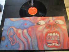 """King Crimson """"nella corte del re Cremisi"""" 1977 POLYDOR riemettere EX/EX"""