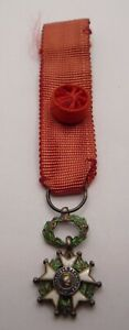 FRANCE /  FRENCH LEGION OF HONOUR MINIATURE MEDAL