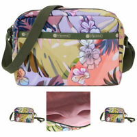 LeSportsac South Beach Palm Daniella Crossbody Bag,Free Ship NWT Colorful Floral