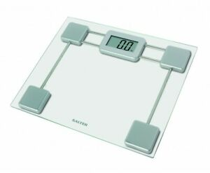 SALTER COMPACT GLASS ELECTRONIC BATHROOM SCALES