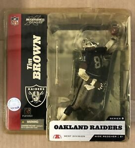 McFarlane, Oakland Raiders, Tim Brown, New Collectable