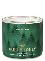 Bath & Body Works Large 3-wick Evergreen Scented Candles Brand New