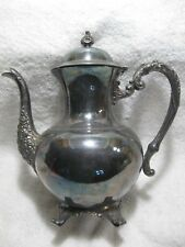 Vintage Wm.A.Rodgers Silver Collectible Teapot-Investment-Gift-Coffee Shop-Home!