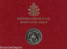 Vaticano 2004  2 Euros  75 Aniv Estado Juan Pablo II - Vatikan GEDENKMÜNZEN
