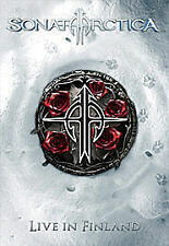 SONATA ARCTICA LIVE IN FINLANDIA BRAND NEW SEALED CD+DVD