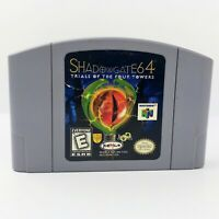 Shadowgate:Trials Of Four Towers (Nintendo 64,1999) Authentic N64 Cart Tested