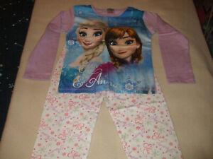 Girls - Disney - (Frozen) Pyjamas set - 5-6 Years - Blue