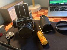 New ListingHasselblad 500C/M Medium Format Film Camera with 80mm Planar T* Lense, 120 Back