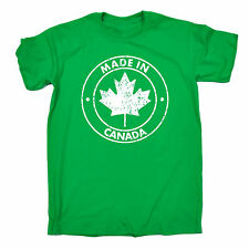 MADE IN CANADA T-SHIRT tee canadian nation patriot funny birthday gift present