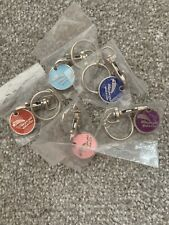 WHEN YOU WISH UPON A STAR TROLLEY KEY CHAIN Various Colours New