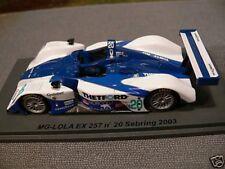 1/43 Spark MG - LOLA EX 257 #20 Sebring 2003 SCMG08
