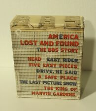 America Lost and Found: The BBS Story (Blu-ray Disc, 2010, 6-Disc Set, Criterion