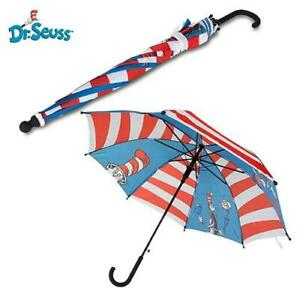 Dr. Seuss Childrens Kids Colourful Umbrella The Cat In The Hat (Emotive)  17 Inc