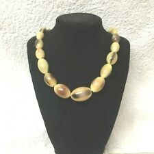 Vintage Jewellery Fabulous Scottish  Horn Antler Deer Necklace