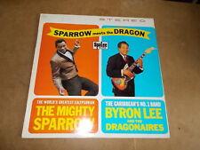LP VINYL - THE MIGHTY SPARROW - BYRON LEE - SPARROW MEETS THE DRAGON - DUTCH