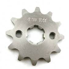17mm ATV Dirtbike 12 Tooth Sprocket Front Coolster Taotao Gio BMS Roketa 12T 420
