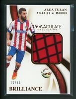 2020 ARDA TURAN 23/50 JERSEY PATCH PANINI IMMACULATE COLLECTION