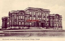 MACDONALD INSITUTE, ONTARIO AGRICULTURAL COLLEGE, GUELPH CANADA1911