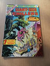 Giant Size Chillers 3. Marvel 1975 -  VF - minus