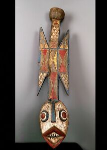 Old Tribal Large Gurunsi  Mask    ---  Burkina Faso  CWH