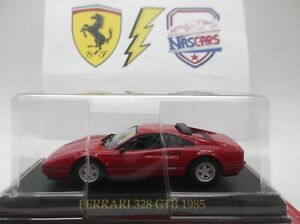 1/43 Ferrari 328 GTB 1985 rouge IXO / ALTAYA / DeAgostini