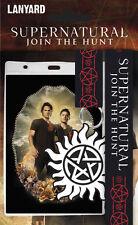 Supernatural pack tour de cou  porte clés pentagramme Supernatural lanyard pack