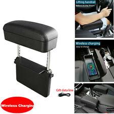 Adjustable Car Seat Gap Filler Storage Box Pocket Console Armrest Side Organizer
