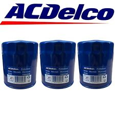 ACDelco PF26 Engine Oil Filter Fits Chevy GMC 6.6L Diesel 2019-2021 OEM 3 Pack