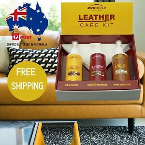 LEATHER CARE KIT for Sofas,Car Seats & Bags-CLEAN-CONDITION-PROTECT YOUR LEATHER