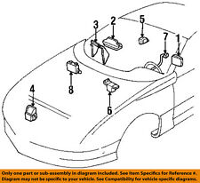 GM OEM Airbag Air Bag-Clockspring Clock Spring 26041005