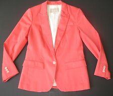 Banana Republic Coral Blazer / Jacket - 2013 style Cotton Spandex - Womens 6 / S