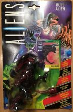 """Aliens - Bull ALIEN - 6"""" Action Figure with card & skull ramming action 1992 MOC"""