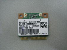 Sony Vaio SVE151D11M SVE1511P1EW sans fil carte WiFi T77H281.11 AR5B225 Atheros