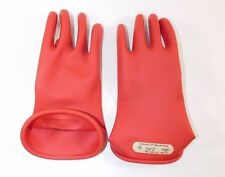 Marigold Red Electrical Gloves, Size 10, 1 Pr.,  CLASS 00 R 10,   2076LLI3