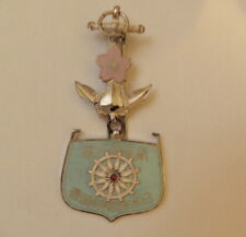 JAPANESE WWII NAVAL BADGE WITH BOX