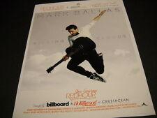 MARK BALLAS flies through the air KICKING CLOUDS 2014 Promo Poster Ad
