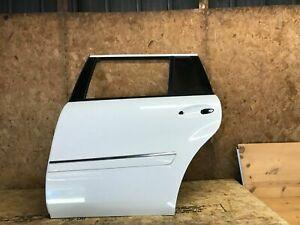 MERCEDES BENZ GL450 X164 07-12 REAR LEFT DRIVER SIDE DOOR SHELL WHITE