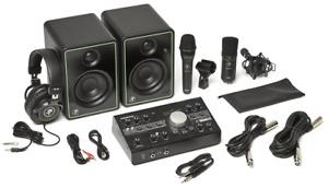 Pack BigKnobStudio, 2 micros, enceintes MACKIE STUDIO-BUNDLE
