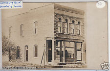 Rppc - Savonburg, Ks - Savonburg State Bank - early 1900s