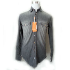 Hugo Boss Men's Size S Denim Black Shirt