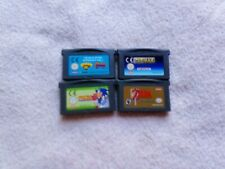 NINTENDO GBA DS CART BUNDLE Zelda A Link To The Past PAC MAN CRASH SPYRO SONIC