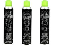 TIGI Rockaholic Dirty Secret Dry Shampoo, 6.3 oz x 3 cans FREE SHIPPING/